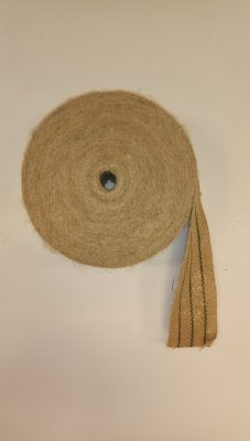 Jute boomband rol `a 25 meter, 7 cm breed