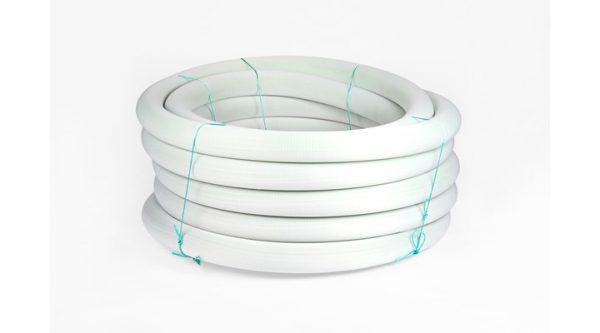 AIREAL tube met nylon kous groen rol `a 25 meter, Ø 80 mm