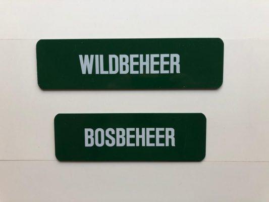 Bosbeheer/Wildbeheer