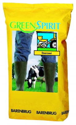 Green spirit overseeding